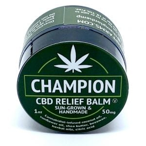 Champion Hemp Farms CBD Relief Balm 1oz