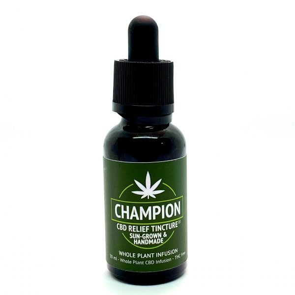Champion Hemp Farms Whole Plant Infused CBD Oil